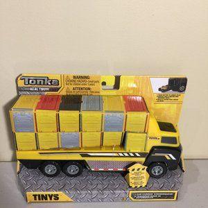 Tonka Real Tough TINYS Car Carrier Transport Truck